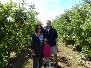 Jen, Van, Savannah Apple Picking