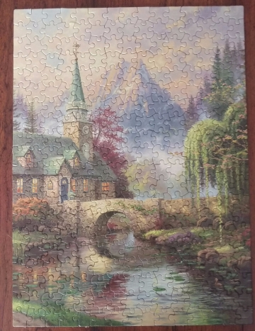 Dogwood Chapel (300pc)