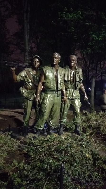 The Three Servicemen (Vietnam Memorial)